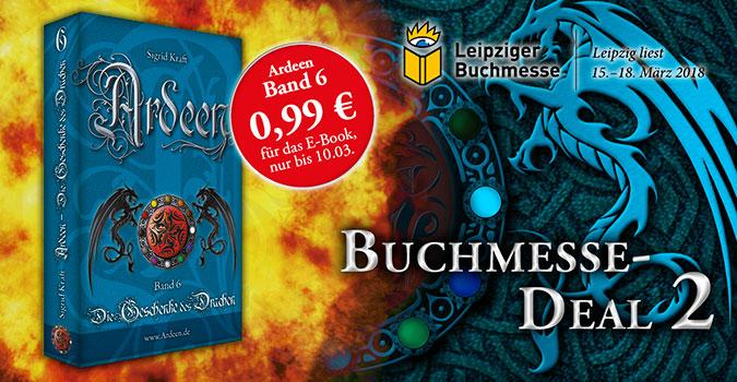 Ardeen-Deal zur Buchmesse Leipzig