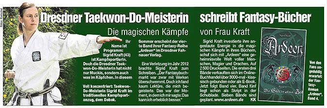 Dresdner Morgenpost 27.05.2014