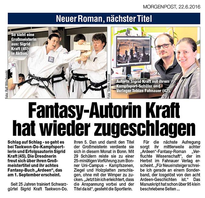 Dresdner Morgenpost 22.06.2016